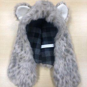 Aeropostale Faux Fur Hat with Ears